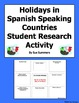 Spanish Speaking Countries Holidays and Festivals Student