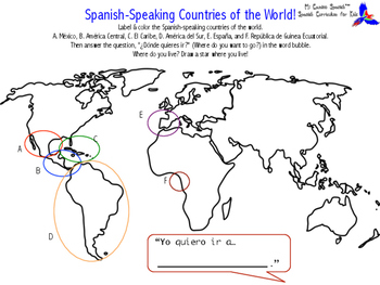 Spanish-Speaking Countries of the World