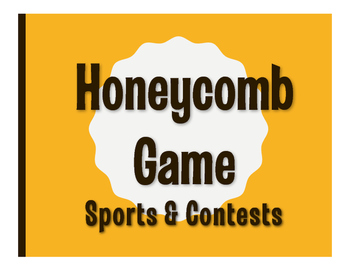 Spanish Sports and Contests Honeycomb