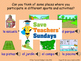 Spanish Sports - days and venues Lesson plan, PowerPoint (