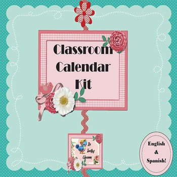 Calendar Kit - English Spanish Bundle
