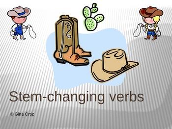 Spanish Stem-Changing Verbs Power Point