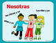 Spanish Subject Pronoun Flashcards, Posters  How to Effect