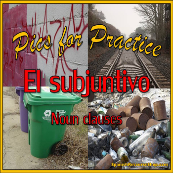 Spanish Subjunctive Pics for Practice Powerpoint