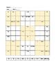 Spanish Sudoku - Definite & Indefinite Articles ~NO PREP S