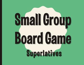 Spanish Superlatives Board Game