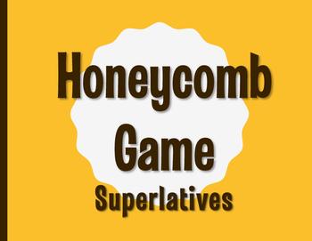 Spanish Superlatives Honeycomb Partner Game