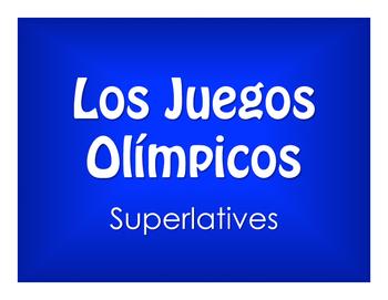 Spanish Superlatives Olympics