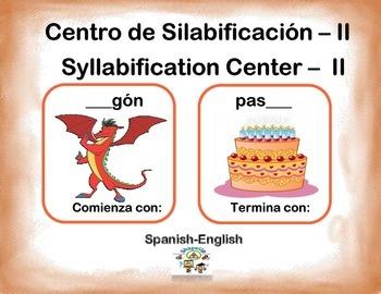 Spanish Syllabification - II / Silabificacion de Palabras