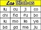 Spanish Syllable Bingo