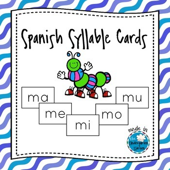 Spanish Syllable Cards/Tarjetas de Sílabas