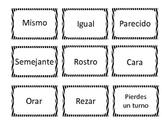 Spanish Synonyms FREEBIE! Sinónimos!