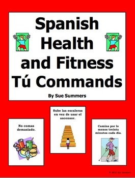 Spanish Tú Commands Health and Fitness PowerPoint