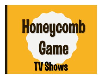 Spanish TV Shows Honeycomb Game