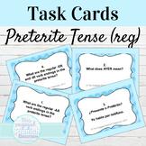 Spanish Preterite Tense Task Cards for Regular Verbs: El P