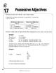 Spanish Teacher's Handbook: Possessive Adjectives