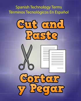 Spanish Techonology Term - Cut and Paste
