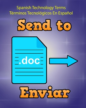Spanish Techonology Term - Send