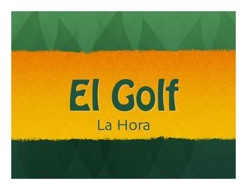 Spanish Telling Time Golf