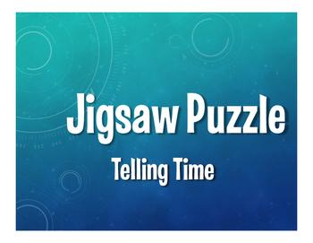 Spanish Telling Time Jigsaw Puzzle