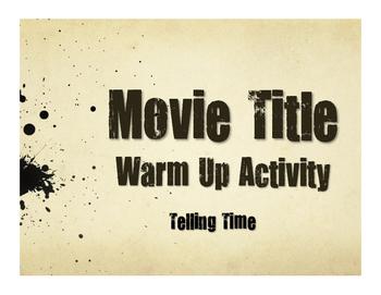 Spanish Telling Time Movie Titles