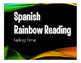 Spanish Telling Time Stations