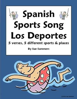 Spanish Sports Song With Actions - Juego Fútbol