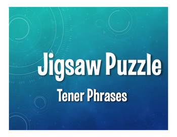 Spanish Tener Phrases Jigsaw Puzzle