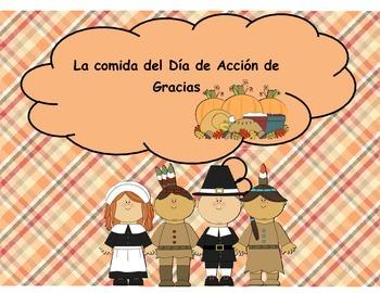 Spanish Thanksgiving Food -  La comida del Día de Acción d