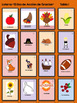 Spanish Thanksgiving Lotería Game (Spanish Bingo) en Español