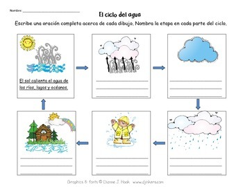 Collection of Water Cycle Worksheet Pdf - Sharebrowse