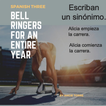 Spanish Three Bell Ringers for an Entire Year