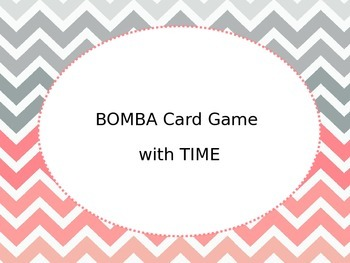 Spanish Time Card Game
