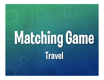 Spanish Travel Matching Game