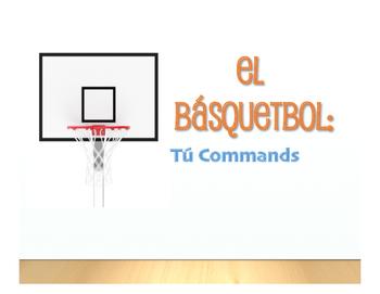Spanish Tú Commands Basketball