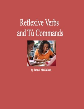 Spanish Tú Commands with Reflexive Verbs