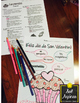 Spanish Valentine's Glyph Set of 3 Read and Color Activiti