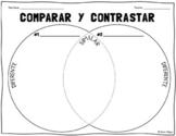 Spanish Venn Diagram Compare & Contrast Worksheet