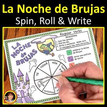Spanish Halloween Verb Conjugation Boards