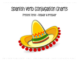 Spanish Verb Conjugation Charts