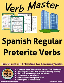 Spanish Verb Master * Regular Preterite * Verbos Regulares