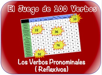 Spanish Reflexive Verbs Writing Activity (Powerpoint)