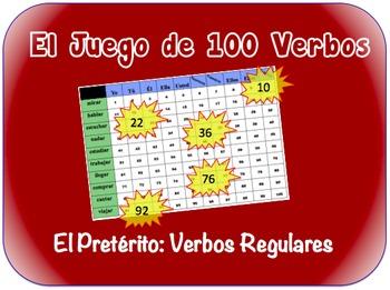 Spanish Regular Preterite Writing Activity (Powerpoint)