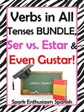 Spanish Verb Tenses / Present to Subjunctive, Ser vs. Esta