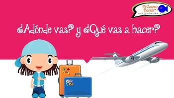 Spanish Verbs & the Simple Future - ¿Adónde vas? y ¿Qué va