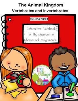 In Spanish | Science Interactive Notebook  | Vertebrates {