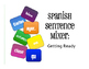 Spanish Vocabulary Activity Bundle:  Getting Ready