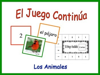 Spanish Animals Activity for Groups, Inventive Twist on Memory