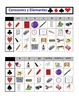 Spanish Classroom Objects Speaking Activity: Playing Cards