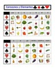 Spanish Fruit and Vegetables Speaking Activity: Playing Ca